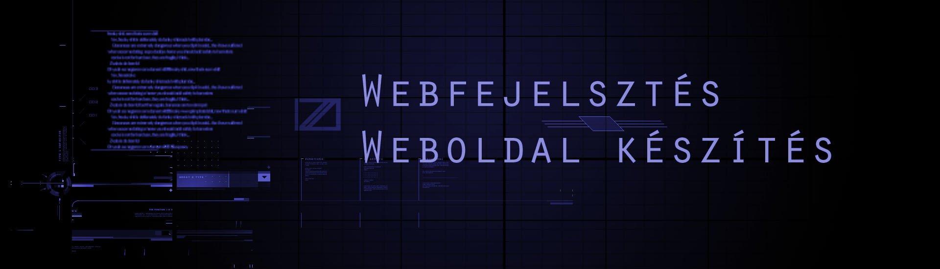 weboldal készítés, webshop készítés